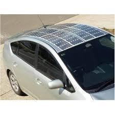 Сонячні батареї на автомобілі