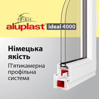 Aluplast ideal 4000