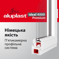 Aluplast ideal 4000 Premium